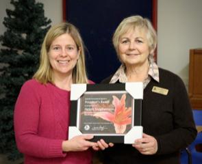 Presidents Award, Oakville D6, C. McGill