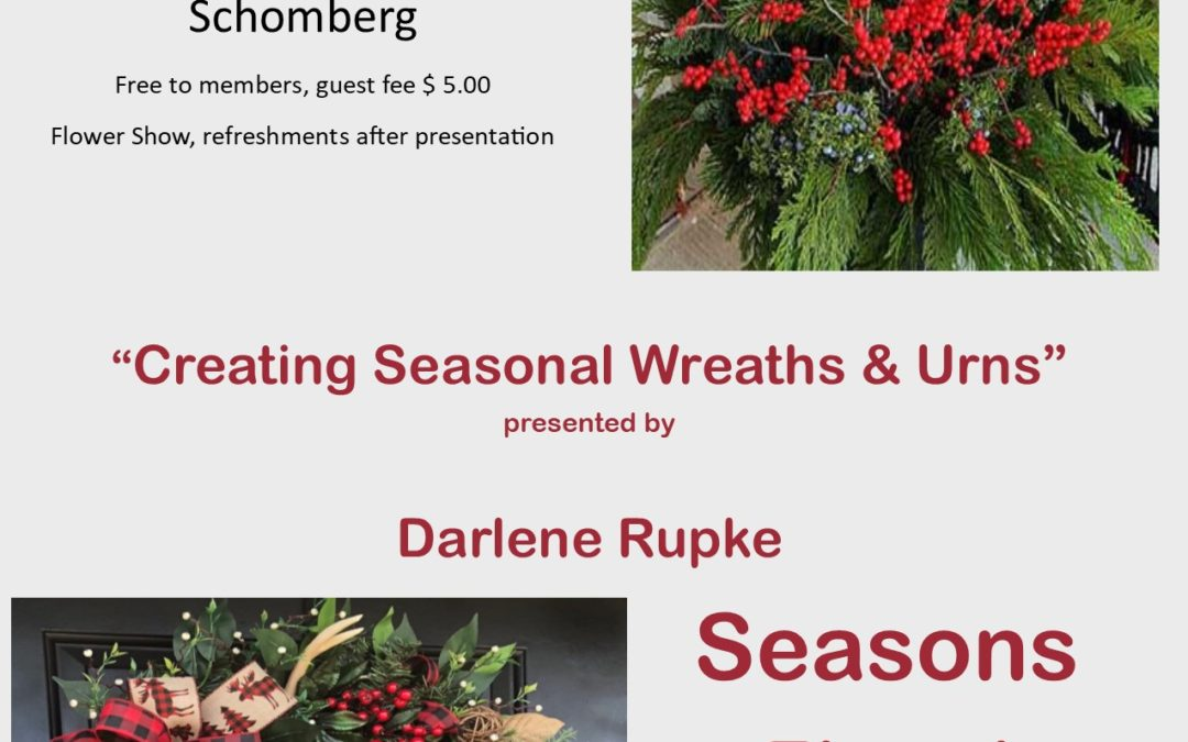 Schomberg Horticultural Society