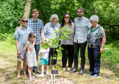 2019 Tree Dedication for Past President John Smith 29Jun20