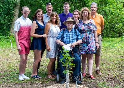 2019 Tree Dedication for Past President Kathleen Petrie 29Jun20