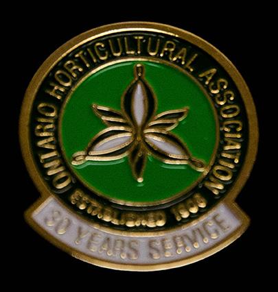 oha service pin, 30 years