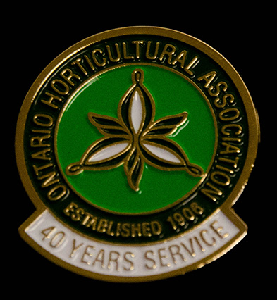 oha service pin, 40 years