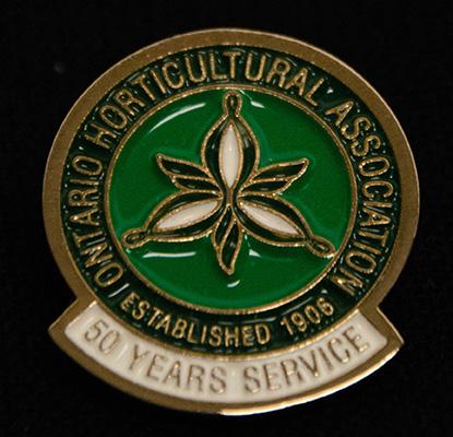 oha service pin, 50 years