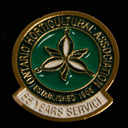 oha service pin, 55 years