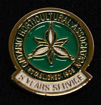 oha service pin, 5 years