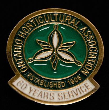 oha service pin, 60 years