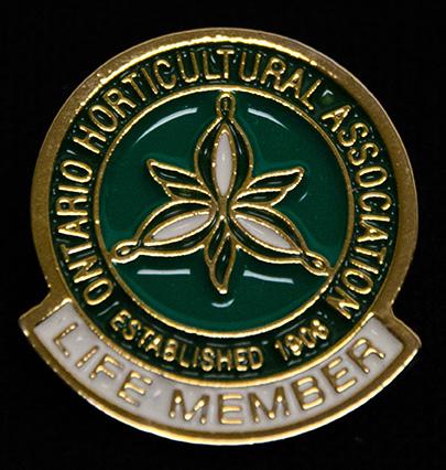 oha service pin, lifetime member