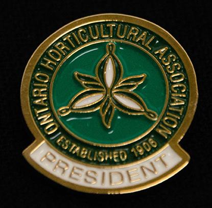 oha service pin, president